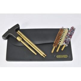 Black Wallet Pistol or revolver cleaning kit