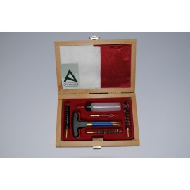 Cleaning kit for pistol or revolver